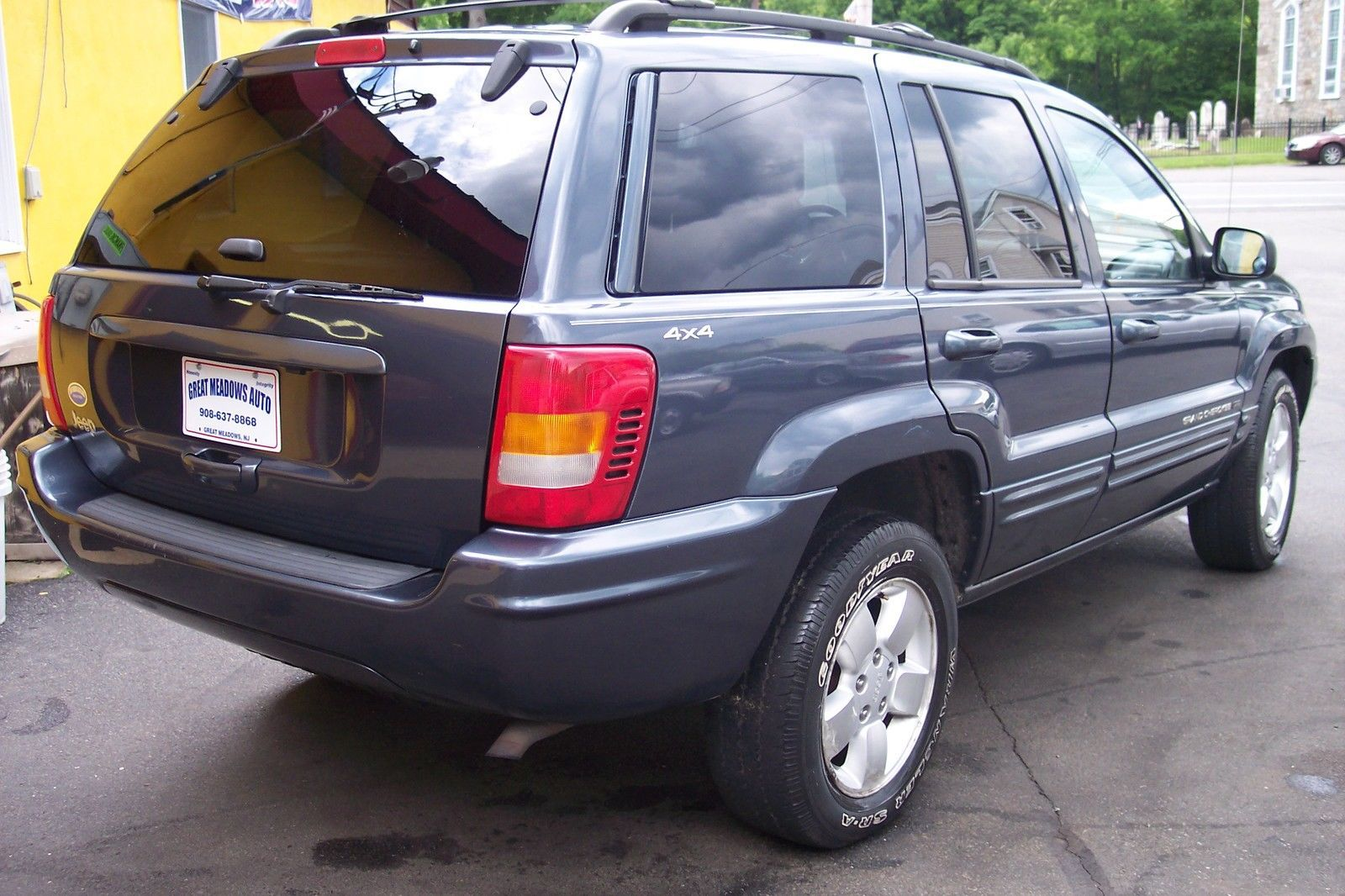 Car brand auctionedjeep grand cherokee 4dr limited 2001