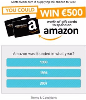 Amazon Gift Card Get A 500 Amazon Gift Card To Proceed Click On