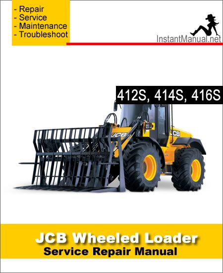 download jcb 412s 414s 416s wheel loader shovel service repair rh pinterest com Yamaha Service Manuals PDF Chilton Manuals