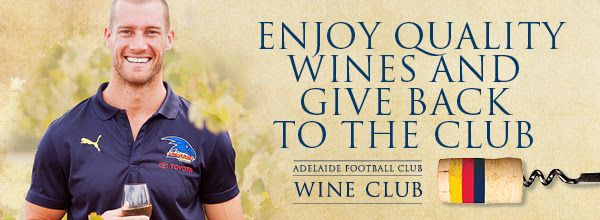 Adelaide Crows in the AFL have a wine club fan engagement idea for their fans.