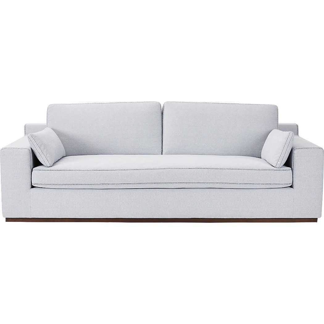 Shop kihon indigo sofa.   Designer Ross Cassidy's style of modern simplicity comes to rest in this timelessly elegant sofa.