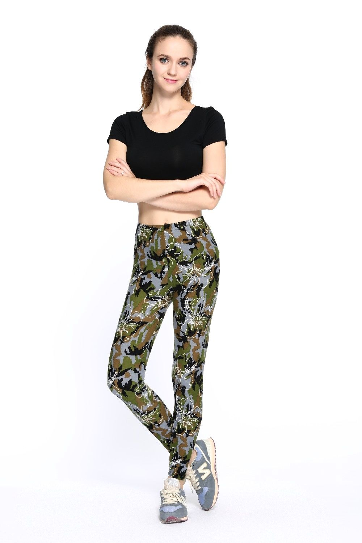 Fitness Camouflage Print Leggings Best leggings for