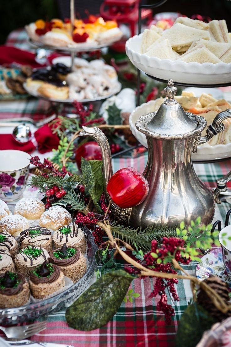 How To Host A Perfect Christmas Tea Party Recipe Christmas Tea