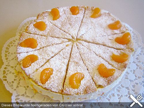 Quark Sahne Torte with mandarines aka my childhood guilty pleasure