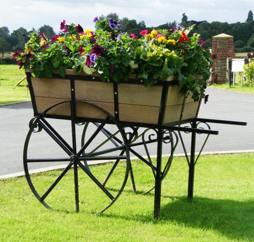 Flower French Garden Cart | CDxND.com   Home Design In Pictures