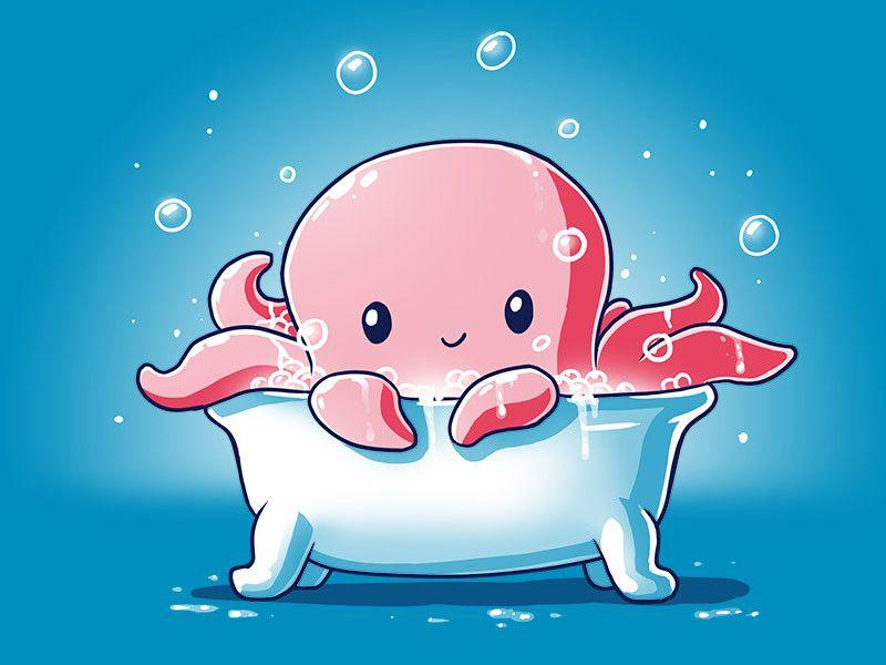 Rub-a-dub-dub! One Octopus In A Tub! Get The Splash T