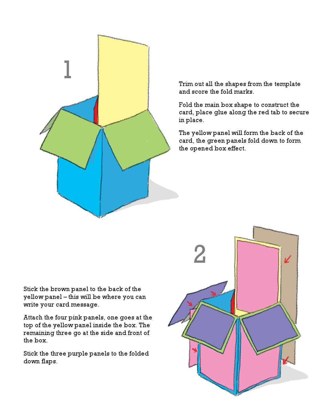 Pop Up Box Card Tutorial Box Cards Tutorial Pop Up Box Cards Card Box