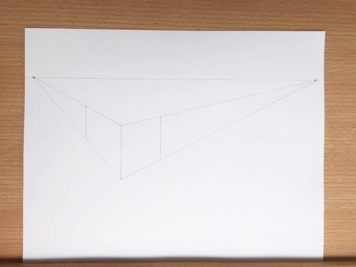 How To Draw Letters In A 2 Point Perspective Con