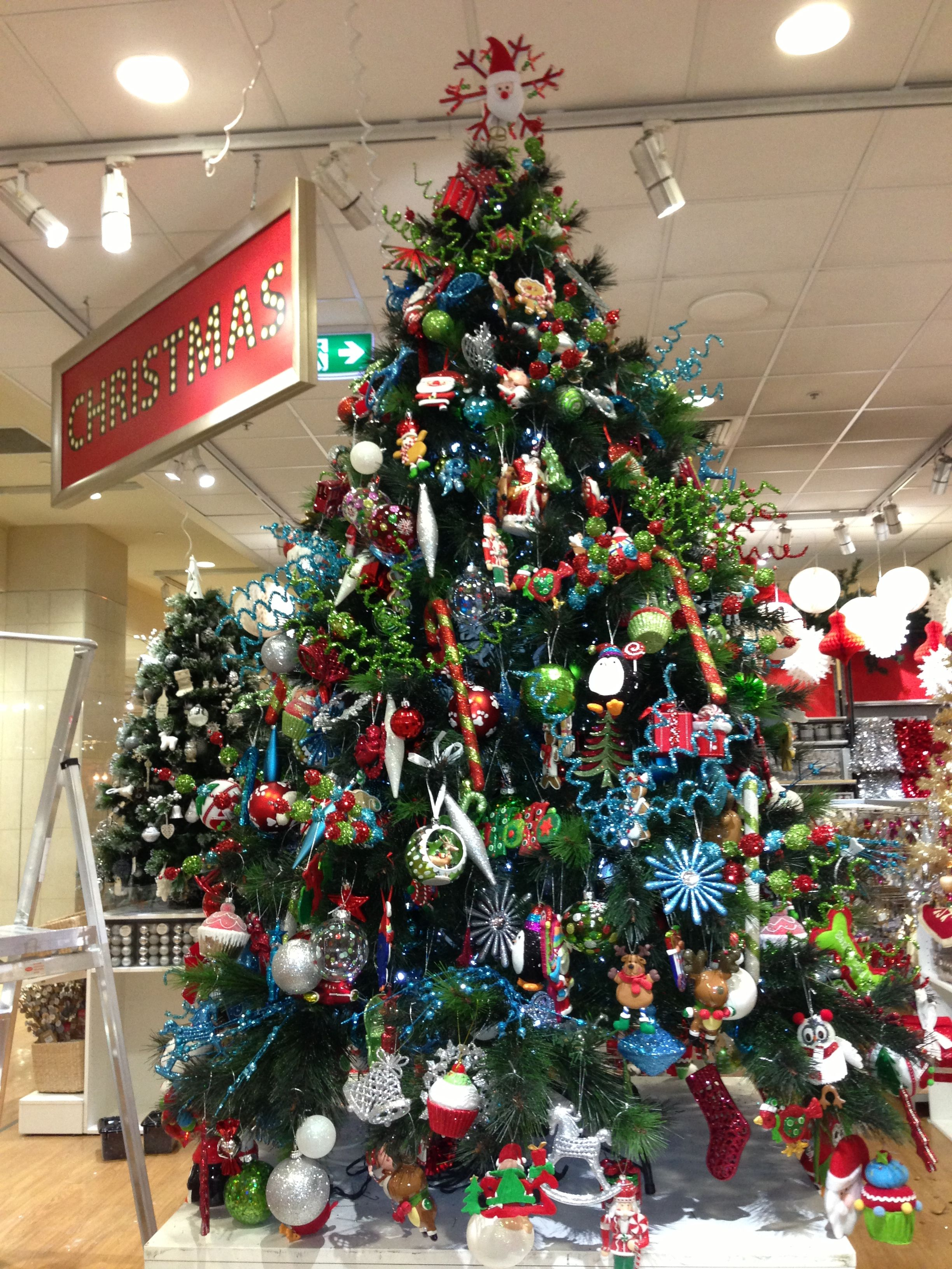 Jingle bell tree I decorated at Myer- work experience | Personal ...