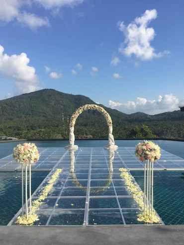 Garden Wedding Ko Samui Thailand Package From Idea The Event