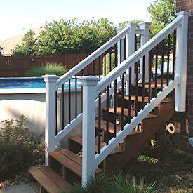 Best Composite Vinyl Stair Railing Railings Outdoor 400 x 300