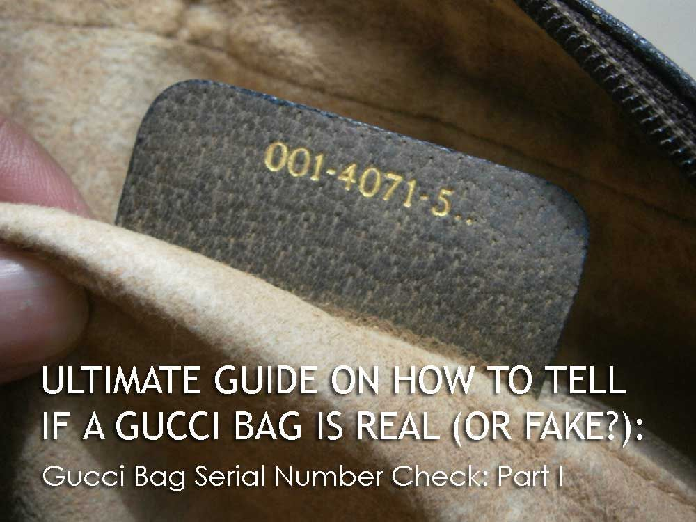 1d1bc7df01bc90 Gucci Serial Number Part I - The Gucci Material - Ultimate Guide Before  Buying Gucci Purses on Ebay - How to Tell if a Gucci Bag is Real (or Fake)  # ...