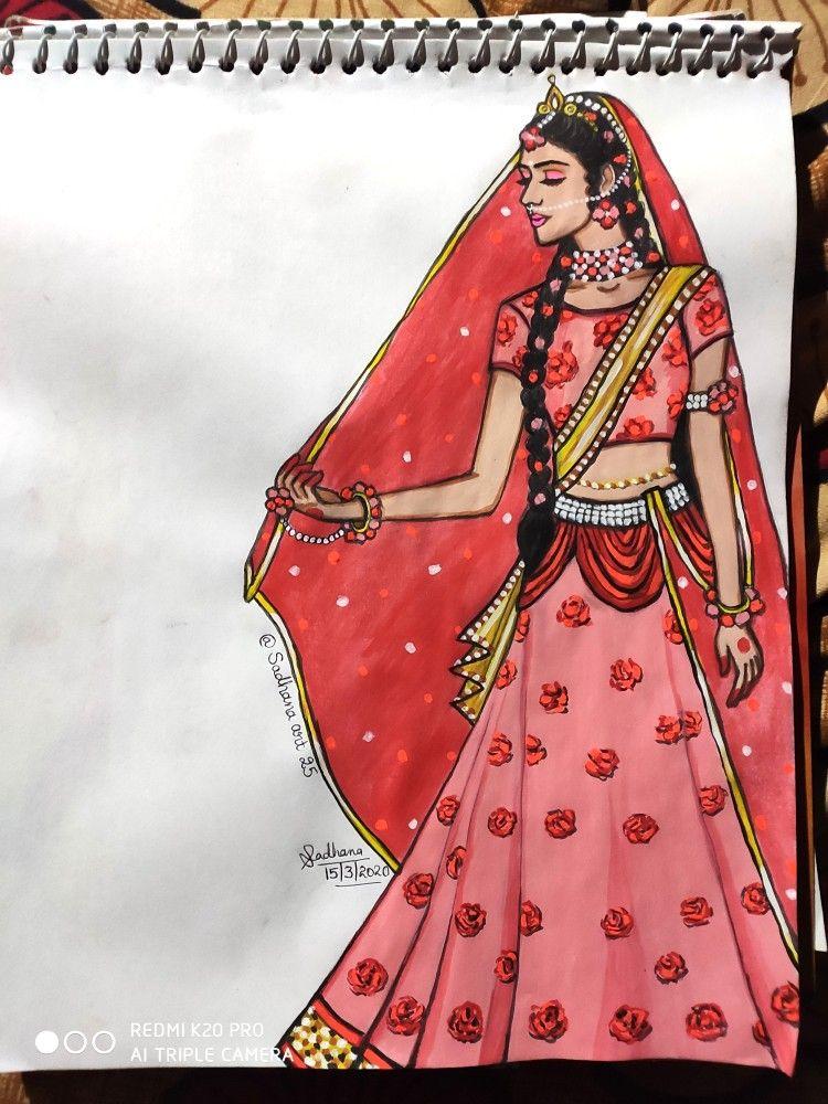 Pin By Vedirenavya On Ig Sadhana Art25 Paintings Made By Me Krishna Drawing Boho Art Drawings Indian Contemporary Art