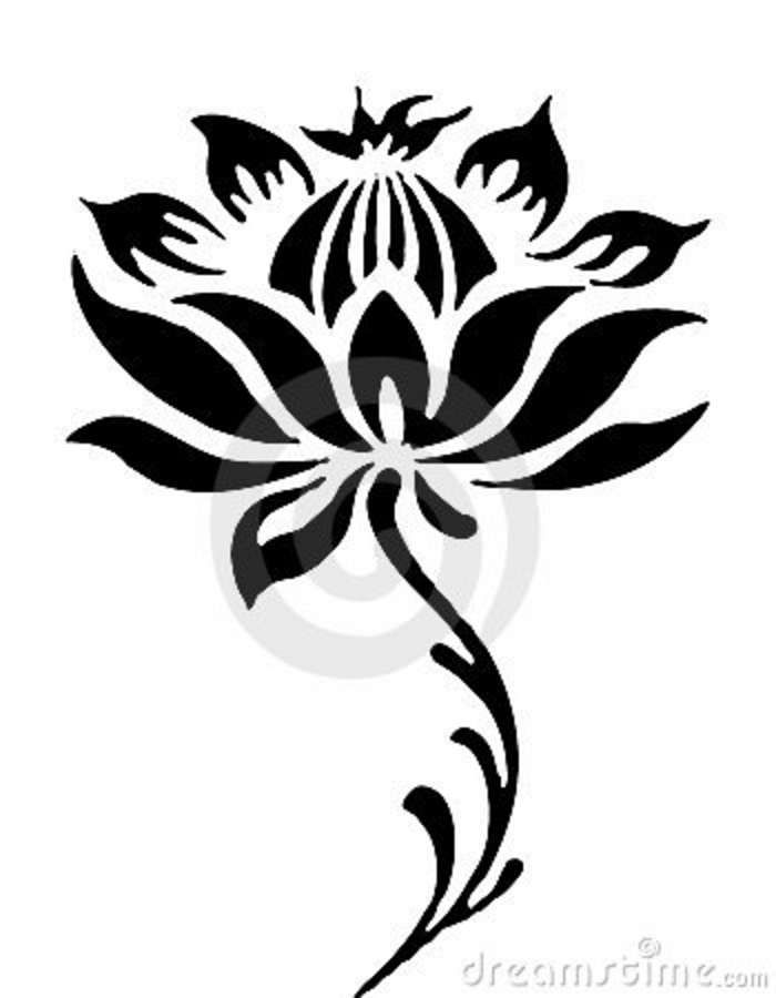 lotus flower line drawing - Google Search | Tattoos | Pinterest ...