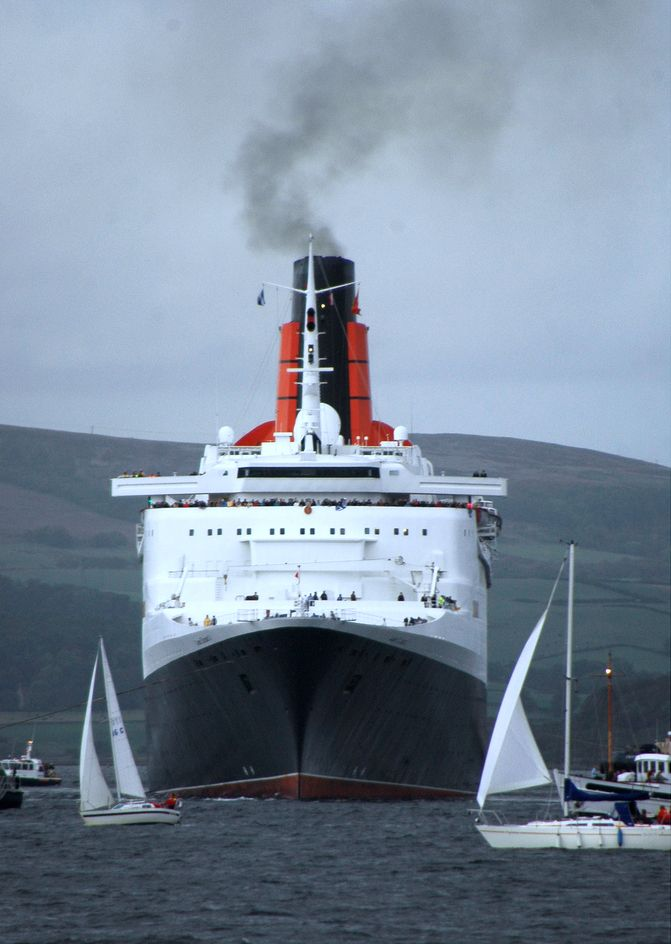 onboard the QE2