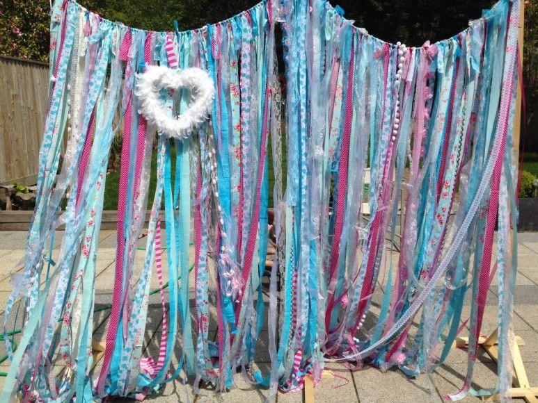 Your Handmade Wedding - Fabric Garlands #Wedding #Bridal #WeddingDecor #Garland #DIY