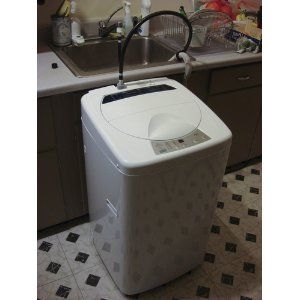 Haier Electronic Cubic Foot Touch Pulsator Top