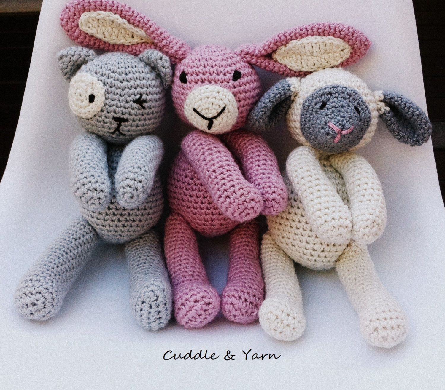 Special offer crochet animals 2 crochet soft toys of your choice crochet animals 2 crochet soft toys of your choice in my shop easter gift easter photoshoot gift newborn soft toys newborn photo prop aud by cuddleandyarn negle Gallery