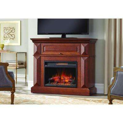 Coleridge 42 In Mantel Console Infrared Electric Fireplace In Medium Cherry In 36 In H 249 Fireplace Mantels For Sale Electric Fireplace Fireplace