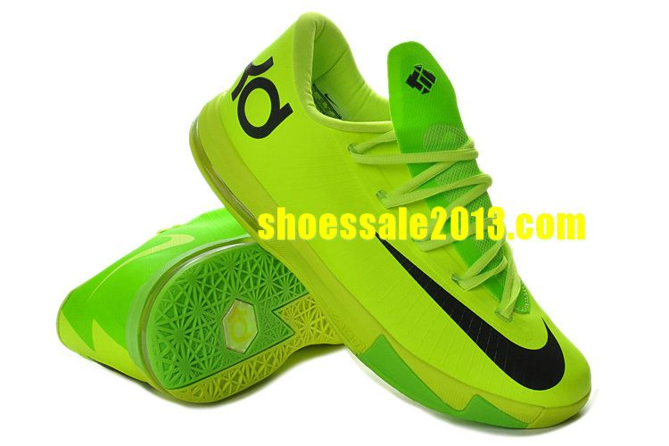 Shop Half Off Nike KD VI Volt Electric Green Black 599424 701 Cheap Kevin  Durant Shoes 6f51b2cf5a