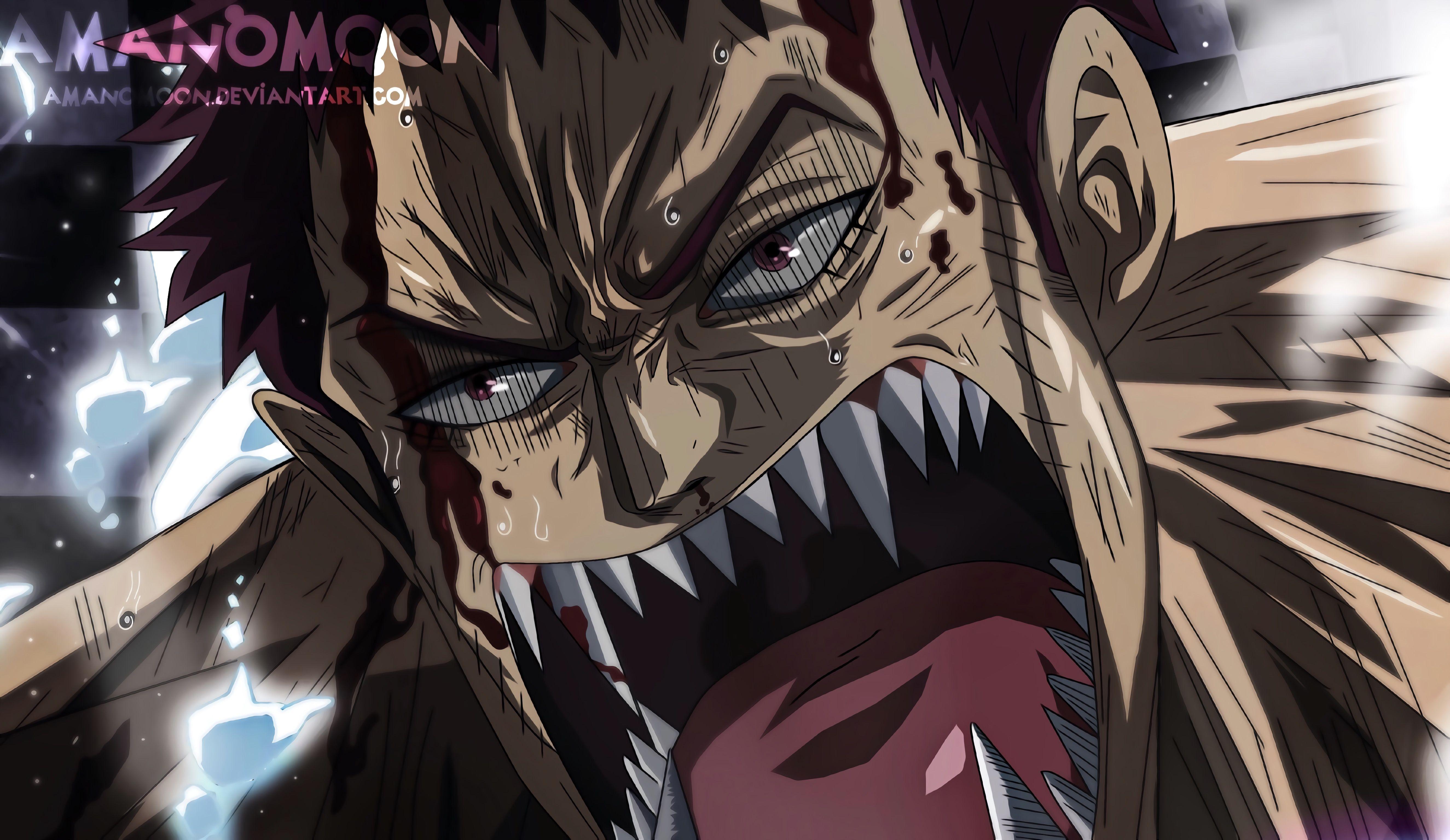 Checkout my YouTube video Luffy Vs Katakuri... Don't
