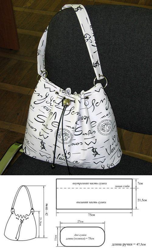 Как сшить хозяйственную сумку своими руками выкройки (42 фото) 82