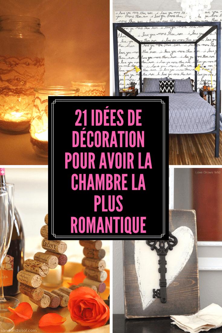 15 Idées de décoration pour avoir la plus belle chambre romantique