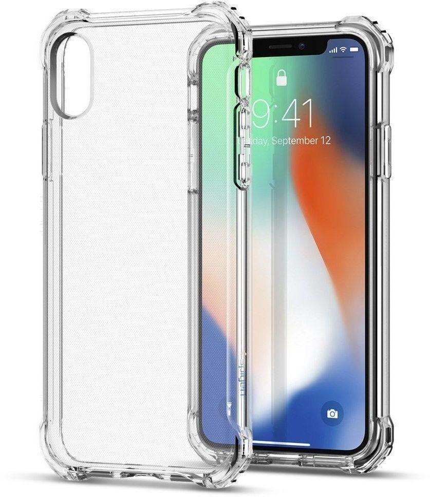 كفر ايفون Iphone X مضاد للصدمات مع زوايا مستديرة توفر حماية عالية لأركان الجهاز مع شاشة حماية النانو لحماية شاشة جهازك Iphone Spigen Iphone Iphone Transparent Case