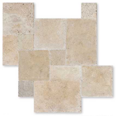Travertin Carrelage Pierre Naturelle Interieur Beige Clair