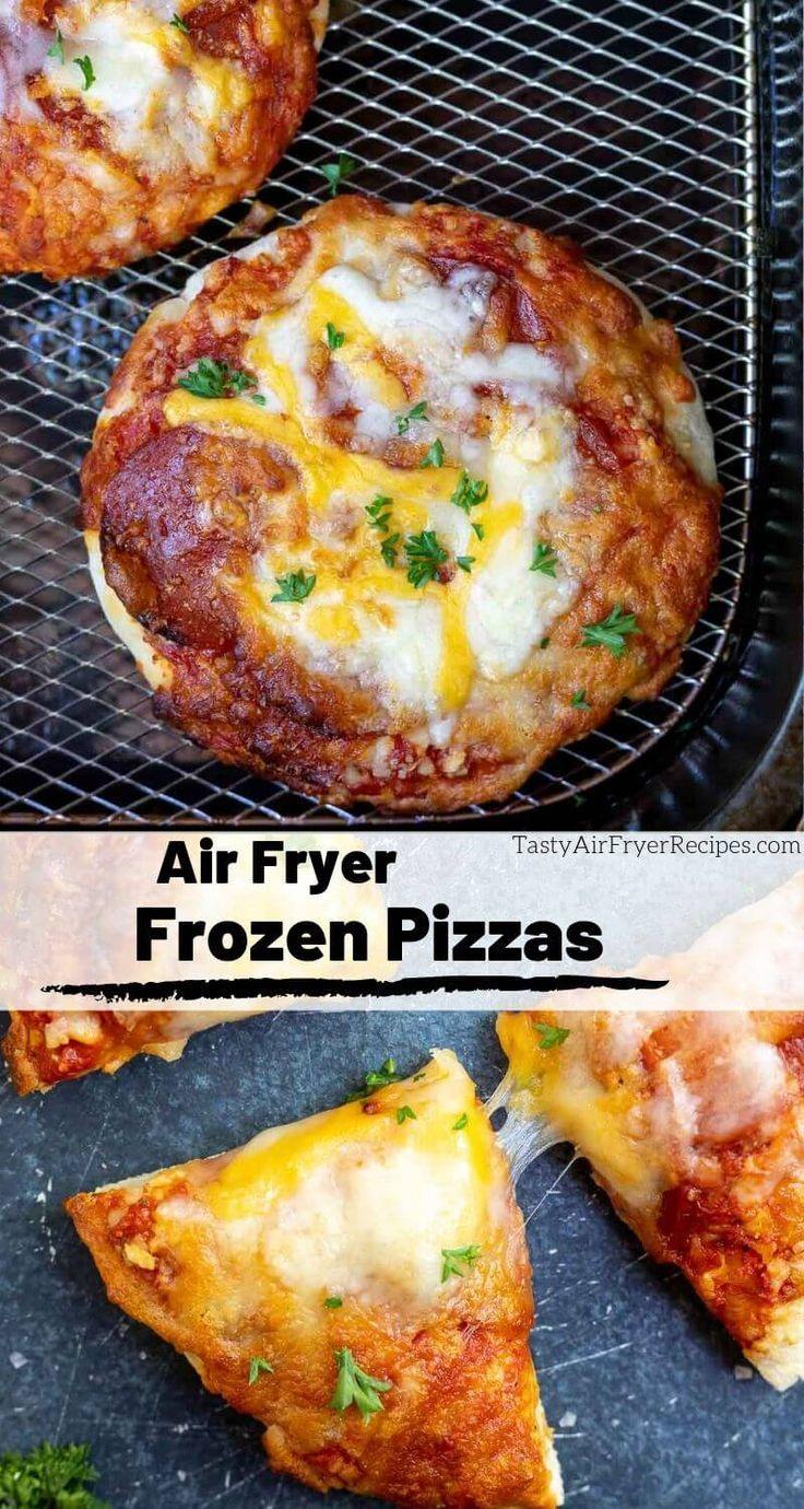 Frozen pizza in air fryer recipe air fryer dinner