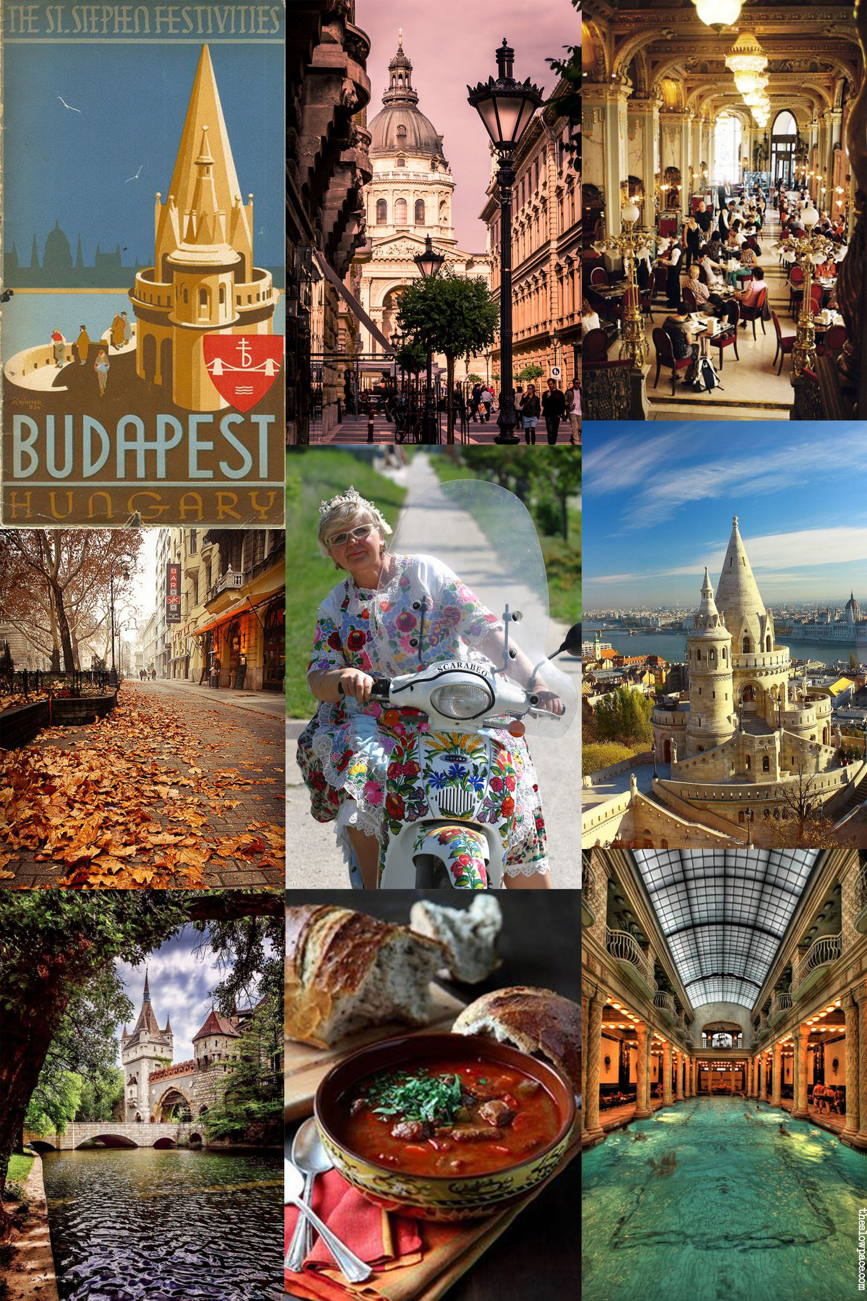 Budapest moodboard
