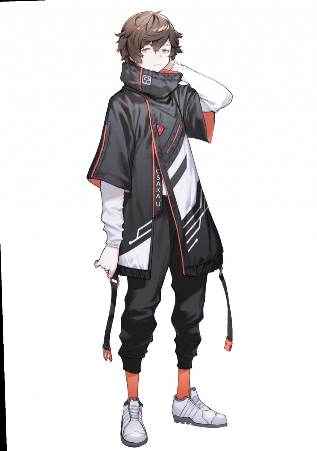 6 Anime Outfits Male Badass animeoutfits 6 Anime Outfits