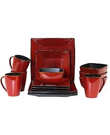 Dinnerware Sets Macy S Stoneware Dinnerware Sets Red