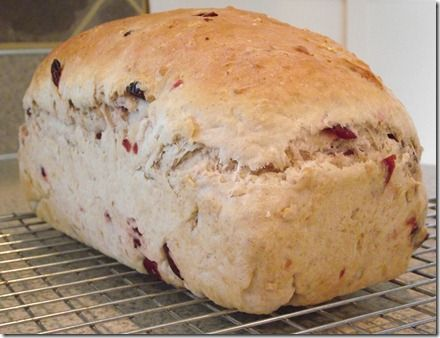Cranberry Oat Bread | Cranberry bread recipes, Cranberry ...
