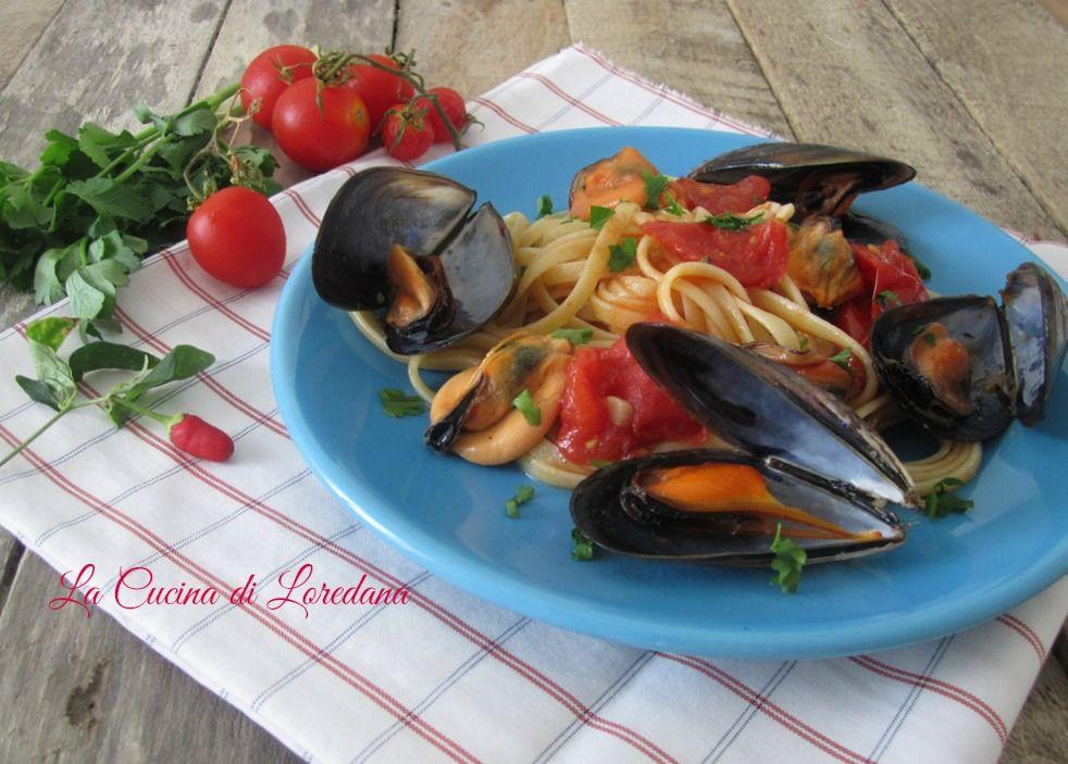 Un primo piatto semplice e gustoso: Pasta con le Cozze, pochi ingredienti e tanto sapore di mare che vi conquisterà