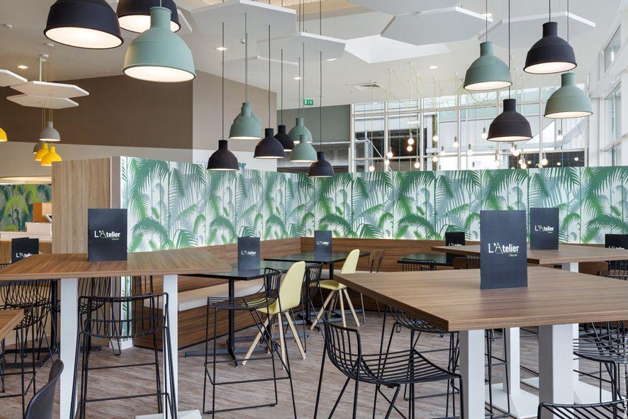 L\'Atelier Cafétéria Leclerc - Fagnières Aménagement restaurant ...