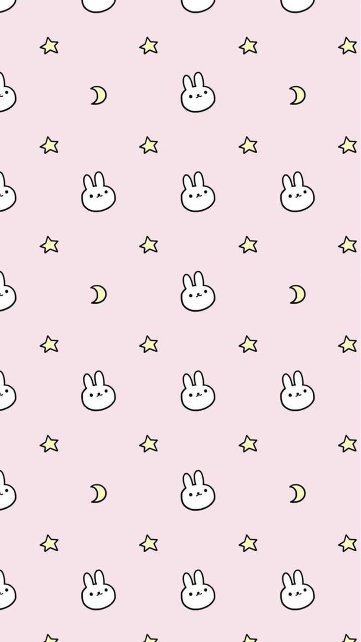 Kawaii bunny wallpaper by Hexstly - c2 - Free on ZEDGE™