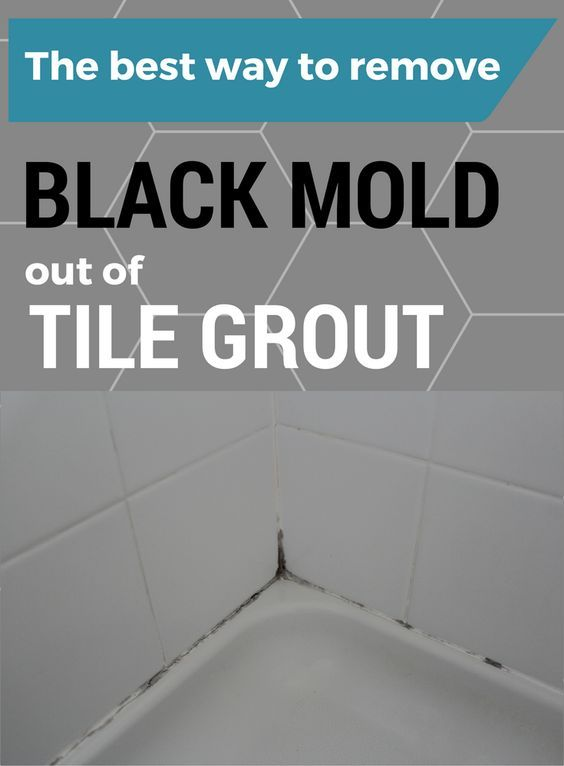 The Best Way To Remove Black Mold Out Of Tile Grout