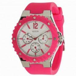 8fd82422 RELOJ GUESS MUJER ACERO SPORT SILICONA ROSA-W90084L2   Relojes Guess ...