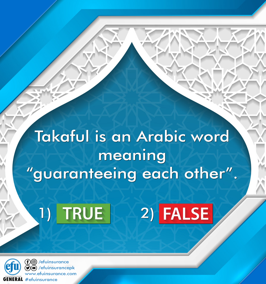 Takaful Is An Arabic Word Meaning Guaranteeing Each Other 1