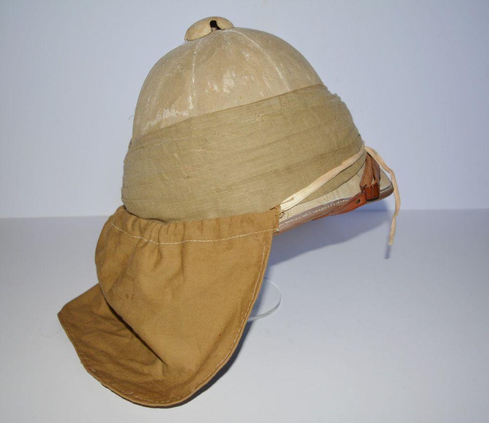 30a552cddb26d Pith Helmet Neck Curtain & Corporal Chevron Foreign Service Helmet Boer War