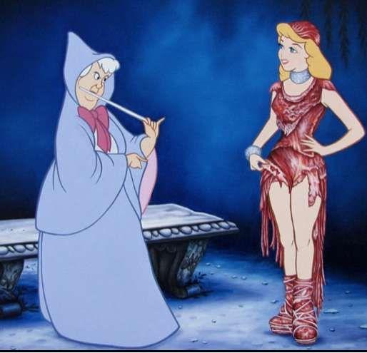 Sinister Disney Remix Paintings