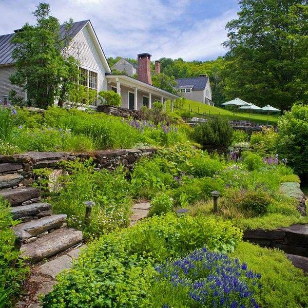 Beautiful Hillside Landscaping