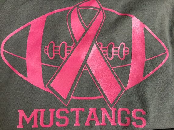 Cancer Pink Out Football Game Adult Shirts by RusticSizzle on Etsy ...