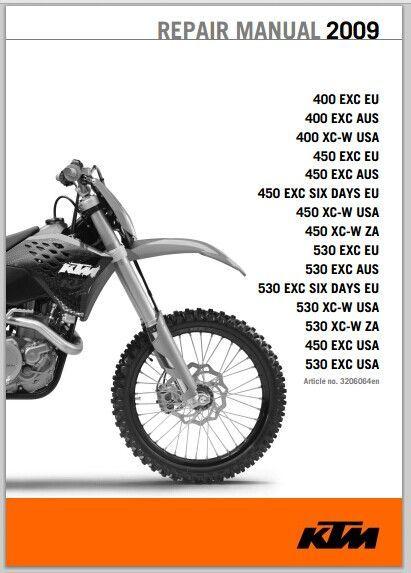 3a0963830488a3f1bcfbda5469f82afb 2009 ktm 400 450 530 xc w exc six days service manual pdf download ktm 300 xc w wiring diagram at fashall.co