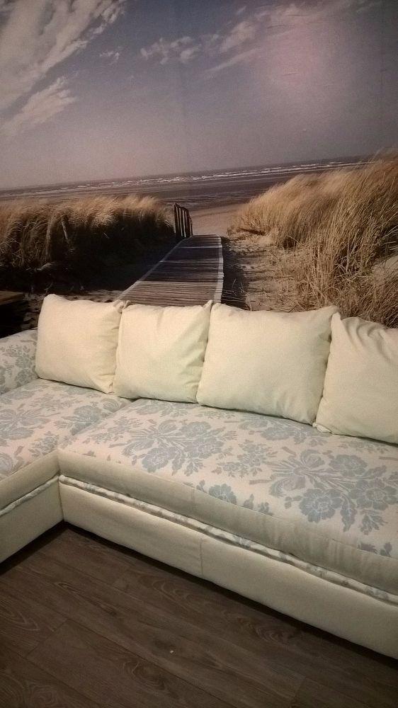 Old Smelly Corner Sofa | Furniture remake | Sofa makeover ...