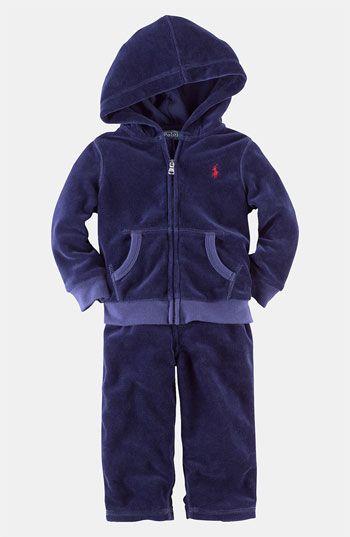 41d0023f4 Ralph Lauren baby boy Velour set