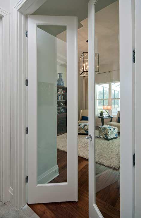 Interior single glass panel door raymond design studio - Exterior glass panel french doors ...