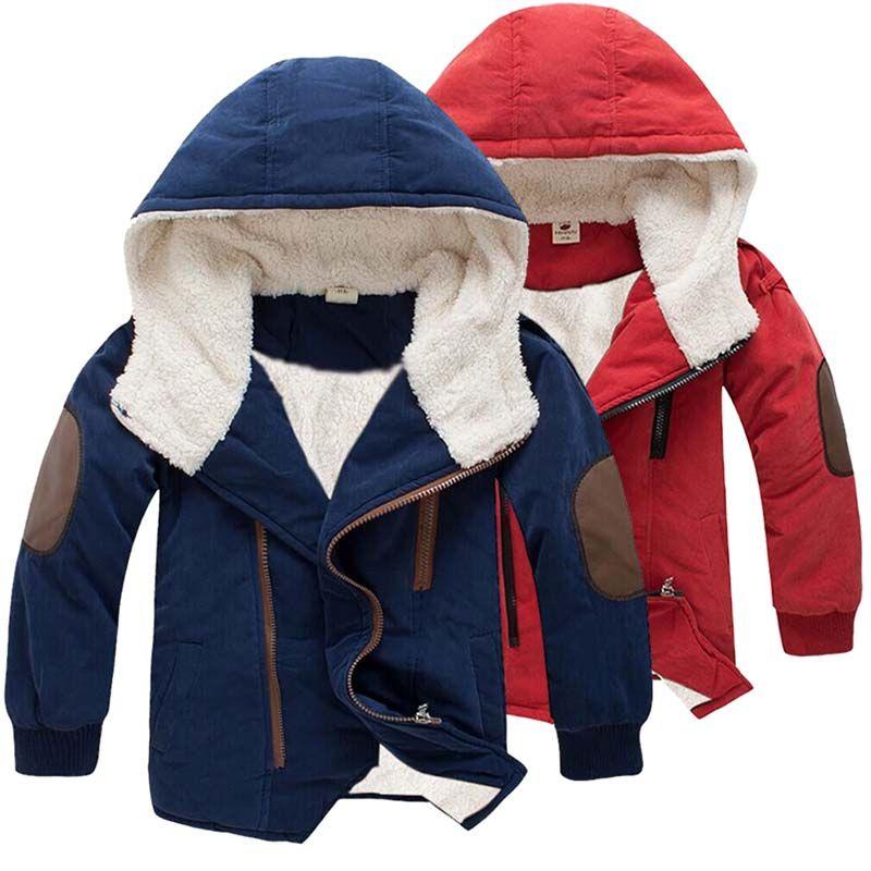 Baby clothes kids girls boys hoodie fleece winter warm padded thick bodysuit