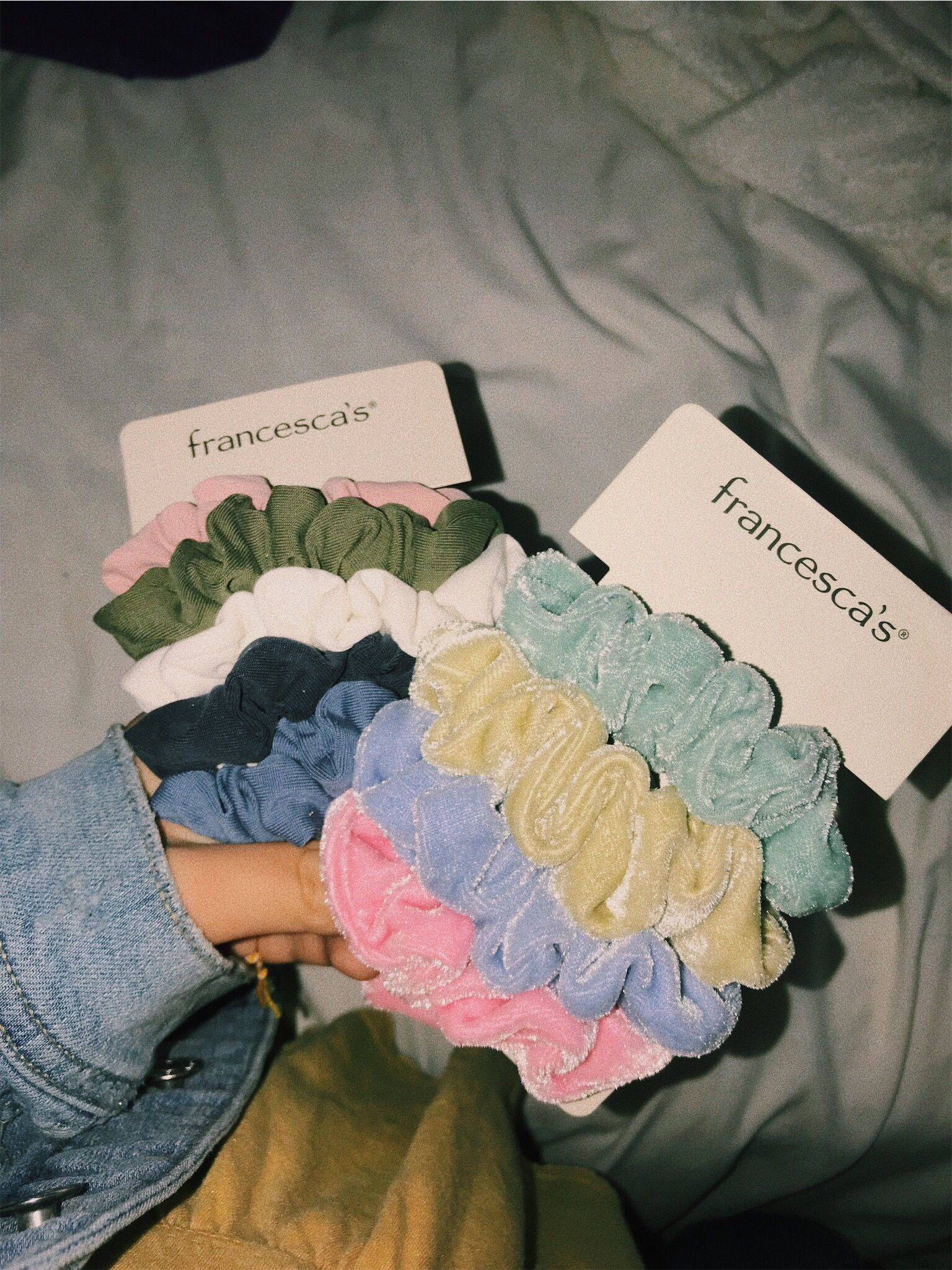 Pin By Abby Rose On Outfit Inspiration Scrunchies Hair Ties Cute